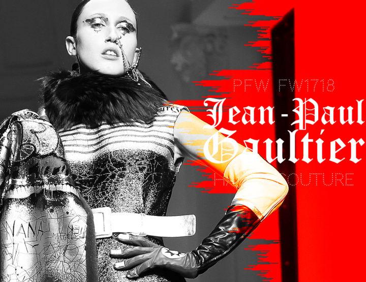 Paris Fashion Week Haute Couture FW1718 : Jean-Paul Gaultier
