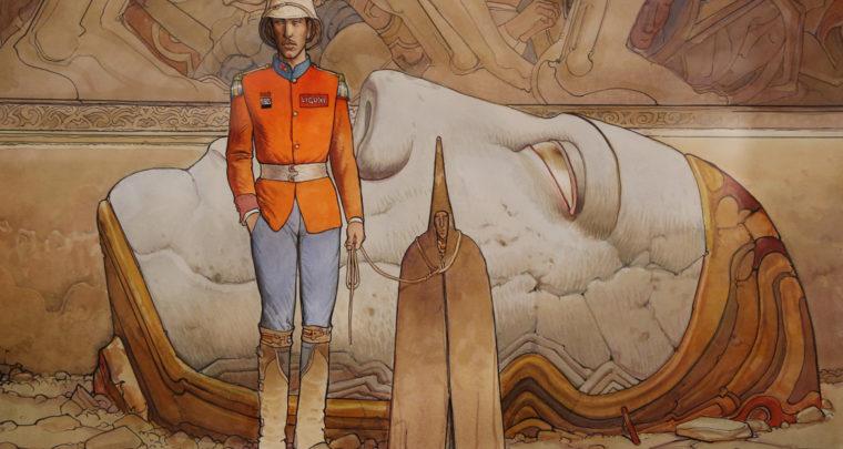 Inside Moebius, l'alchimie du trait à l'Hôtel des Arts de Toulon
