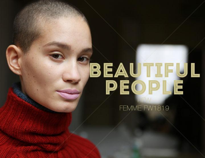 Paris Fashion Week Femme FW1819 : Beautiful People