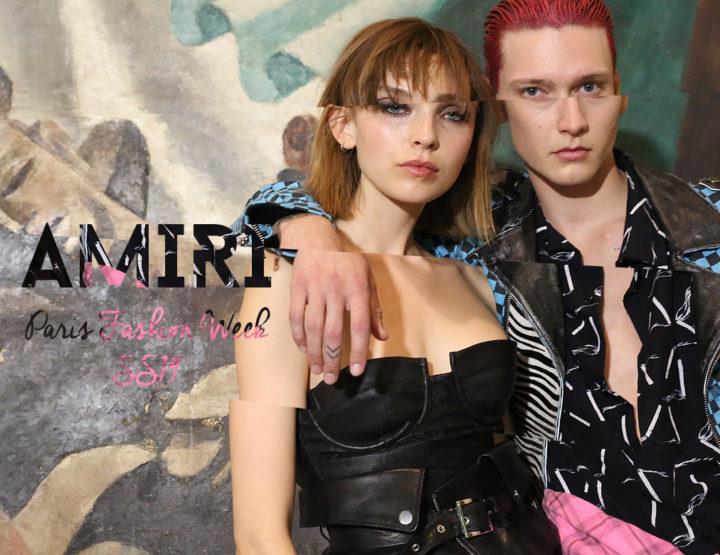 Paris Fashion Week Homme SS19 : Amiri