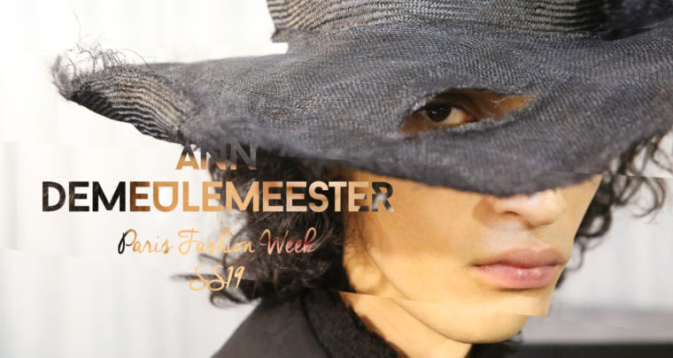 Paris Fashion Week Homme SS19 : Ann Demeulemeester