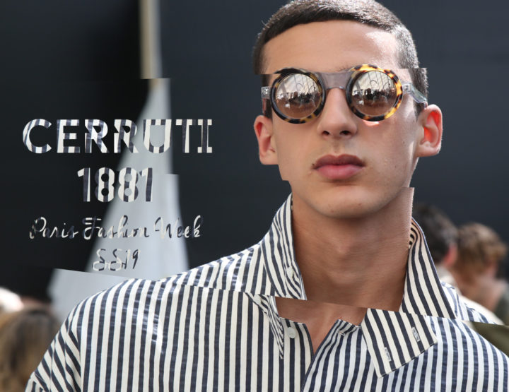 Paris Fashion Week Homme SS19 : Cerruti 1881