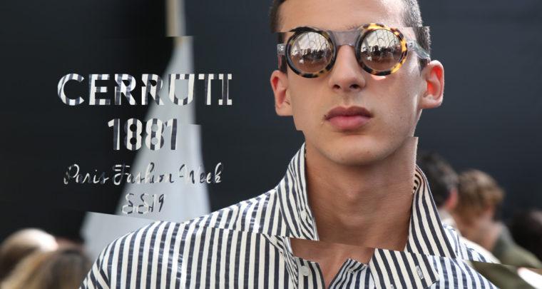 Paris Fashion Week Homme SS19 : Cerruti 1881
