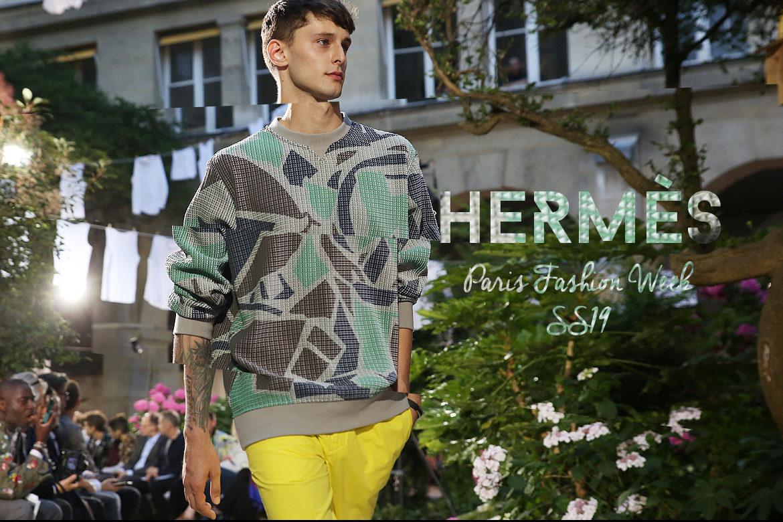 Le Mot   la Chose » La Culture autrement » Paris Fashion Week Homme SS19    Hermès b5160f075c4