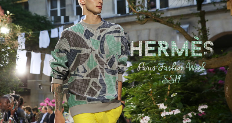 Paris Fashion Week Homme SS19 : Hermès