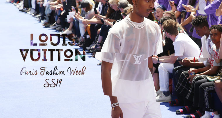 Paris Fashion Week Homme SS19 : Louis Vuitton