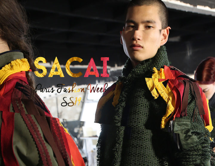 Paris Fashion Week Homme SS19 : Sacai