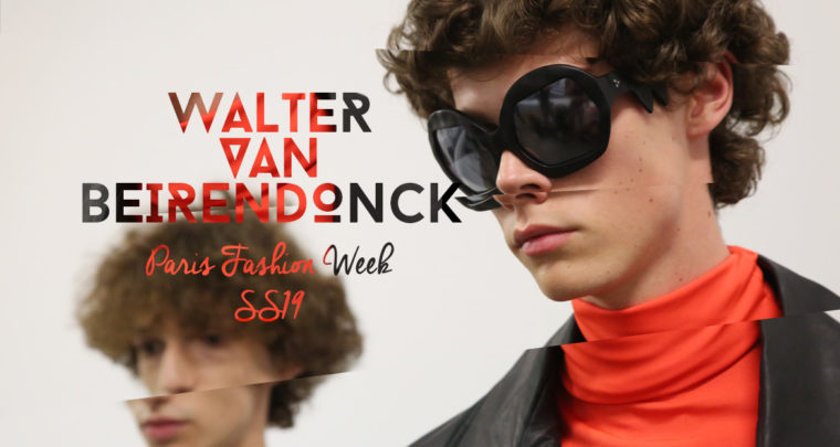 Paris Fashion Week Homme SS19 : Walter van Beirendonck