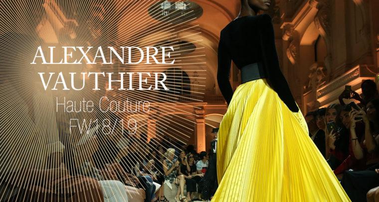 Paris Fashion Week Haute Couture FW18/19 : Alexandre Vauthier