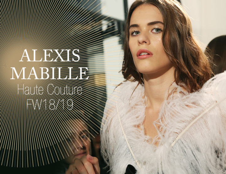 Paris Fashion Week Haute Couture FW18/19 : Alexis Mabille