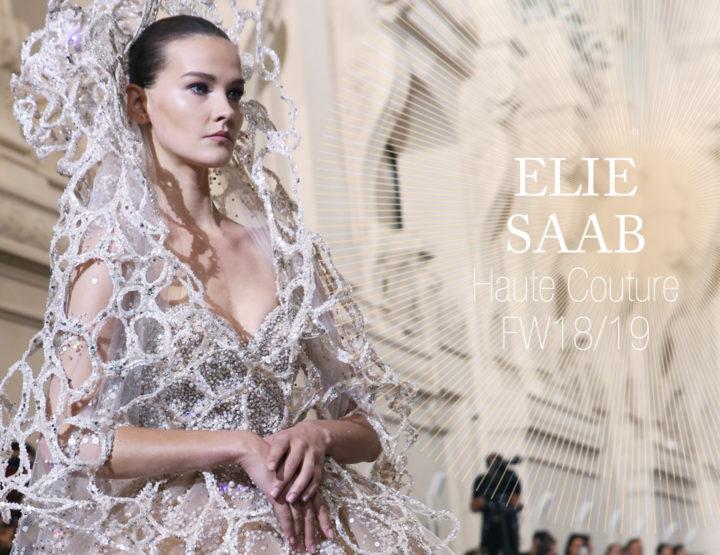 Paris Fashion Week Haute Couture FW18/19 : Elie Saab