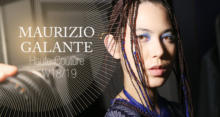 Paris Fashion Week Haute Couture FW18/19 : Maurizio Galante