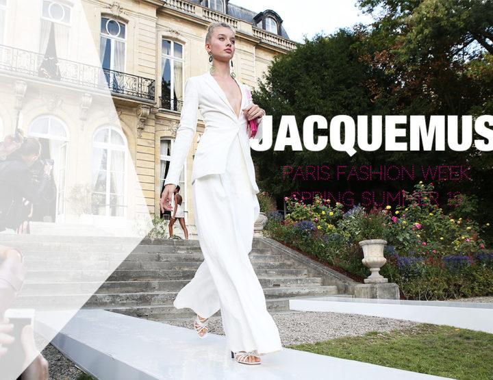 Paris Fashion Week Femme SS19 : Jacquemus