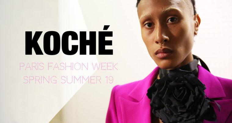 Paris Fashion Week Femme SS19 : Koché