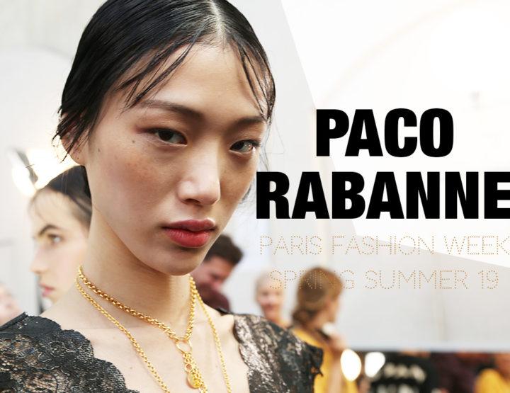 Paris Fashion Week Femme SS19 : Paco Rabanne