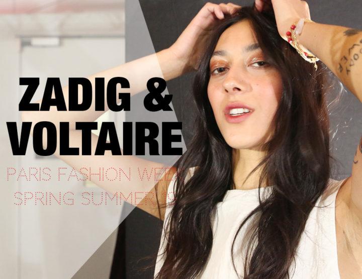Paris Fashion Week Femme SS19 : Zadig & Voltaire