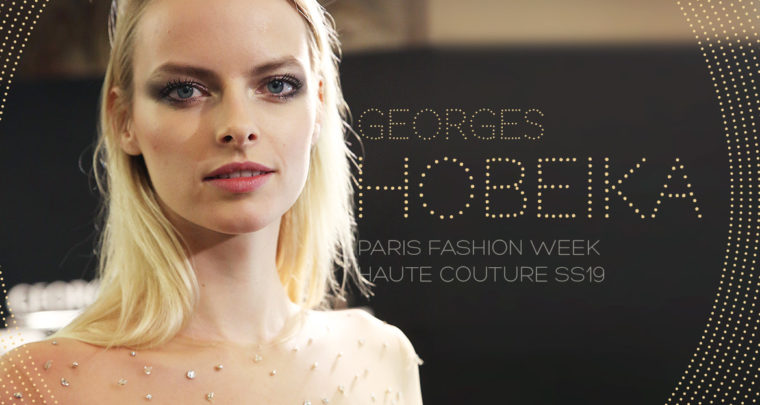 Paris Fashion Week Haute Couture SS19 : Georges Hobeika