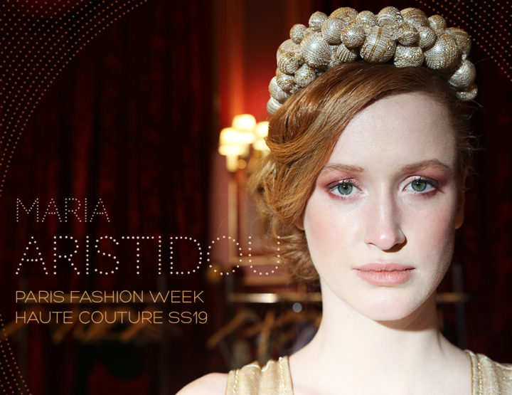 Paris Fashion Week Haute Couture SS19 : Maria Aristidou